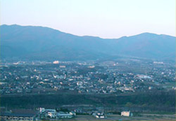 長野県東御市本海野の風景
